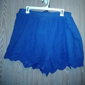 Pants - Xxl Ruffled Shorts